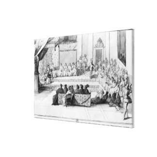 The Assembly of the Blois Estates Canvas Print