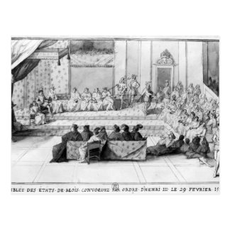 The Assembly of the Blois Estates Postcard