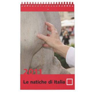 The Asses of Italy Calendar