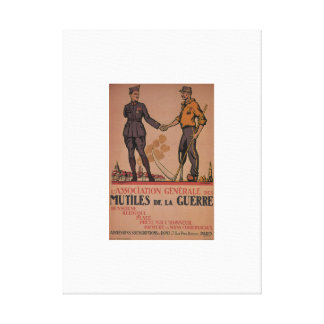 The Association of Disabled_Propaganda poster Canvas Print