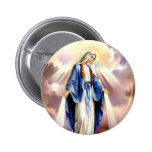 The Assumption of Mary 2 Inch Round Button