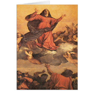 The Assumption of Mary into Heaven Cards