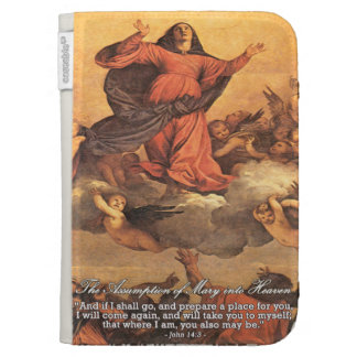 The Assumption of Mary into Heaven Kindle Case