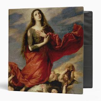 The Assumption of Mary Magdalene, 1636 Vinyl Binder