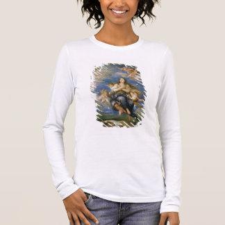 The Assumption of Mary Magdalene (oil on canvas) Long Sleeve T-Shirt