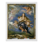 The Assumption of Mary Magdalene (oil on canvas) Print