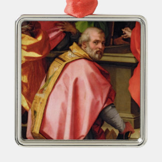 The Assumption of Mary Metal Ornament