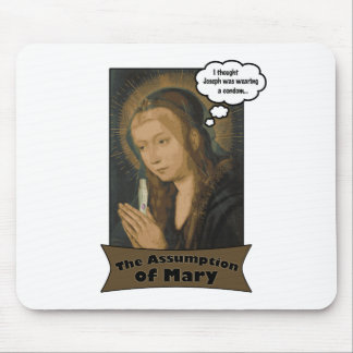 The Assumption of Mary Mouse Pad