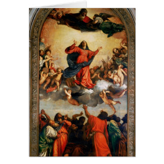 The Assumption of the Virgin, 1516-18 Card