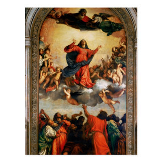 The Assumption of the Virgin, 1516-18 Postcard