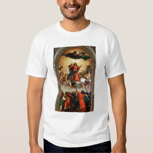 The Assumption of the Virgin, 1516-18 T Shirts
