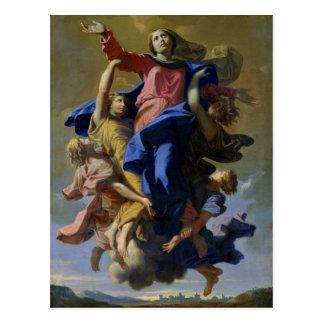 The Assumption of the Virgin, 1649-50 Postcard