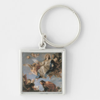 The Assumption of the Virgin, 1673 (oil on canvas) Keychains