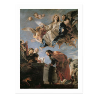 The Assumption of the Virgin, 1673 (oil on canvas) Postcard