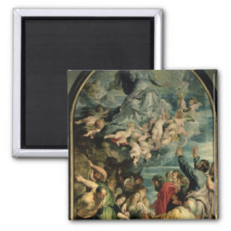 The Assumption of the Virgin Altarpiece, 1611/14 2 Inch Square Magnet