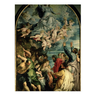 The Assumption of the Virgin Altarpiece, 1611/14 Postcard