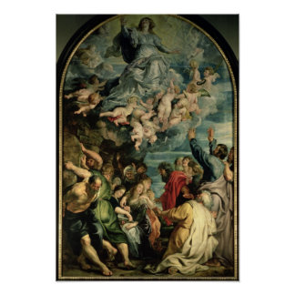 The Assumption of the Virgin Altarpiece, 1611/14 Poster