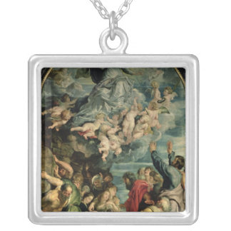 The Assumption of the Virgin Altarpiece, 1611/14 Silver Plated Necklace