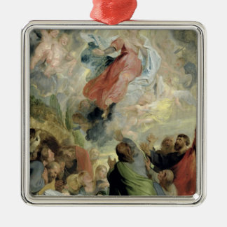 The Assumption of the Virgin Mary Metal Ornament