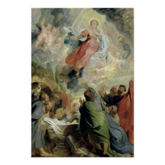 The Assumption of the Virgin Mary Poster