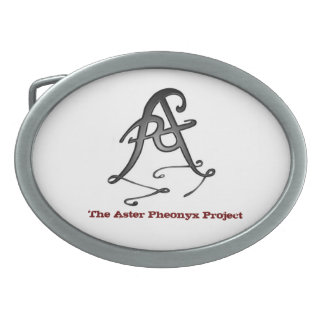 The Aster Pheonyx Project Belt Buckle
