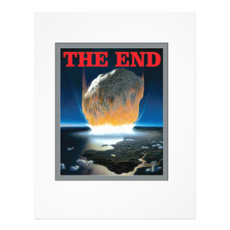 the asteroid end letterhead