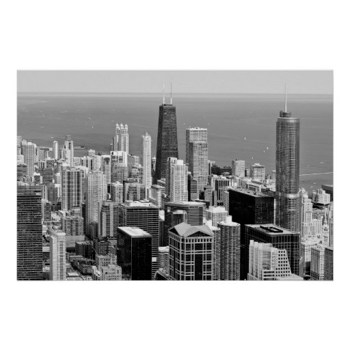 THE ASTONISHING CHICAGO BUILDINGS POSTER