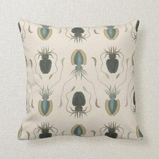The Astrolabe Molluscs (green) Throw Pillow