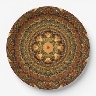 The Astrologers Lab Mandala Paper Plate