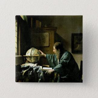 The Astronomer, 1668 Button