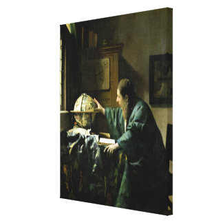 The Astronomer, 1668 Canvas Print