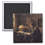 The Astronomer 2 Inch Square Magnet