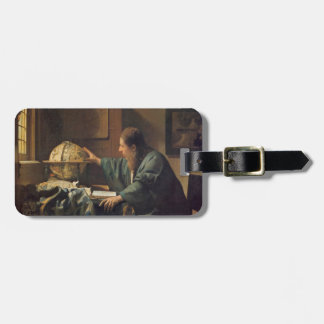 The Astronomer by Johannes Vermeer Bag Tag