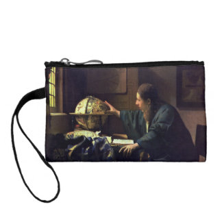 The Astronomer by Johannes Vermeer Coin Wallet
