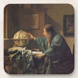 The Astronomer by Johannes Vermeer Drink Coaster