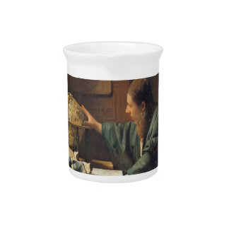 The Astronomer by Johannes Vermeer Drink Pitchers