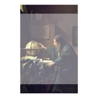 The Astronomer by Johannes Vermeer Personalized Flyer