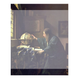 The Astronomer by Johannes Vermeer Full Color Flyer