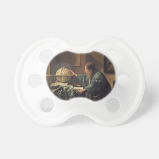 The Astronomer by Johannes Vermeer Pacifier