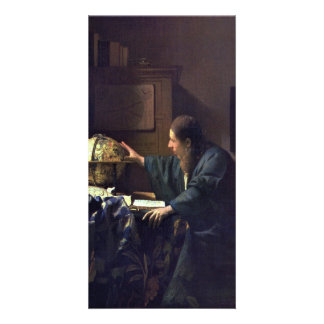 The Astronomer by Johannes Vermeer Photo Card