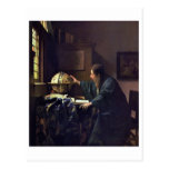 The Astronomer by Johannes Vermeer Post Cards
