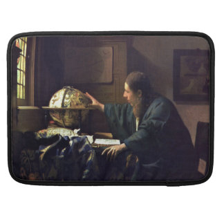 The Astronomer by Johannes Vermeer Sleeve For MacBook Pro