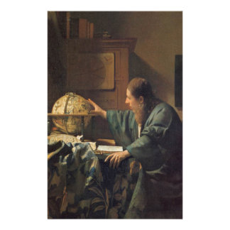 The Astronomer by Johannes Vermeer Stationery