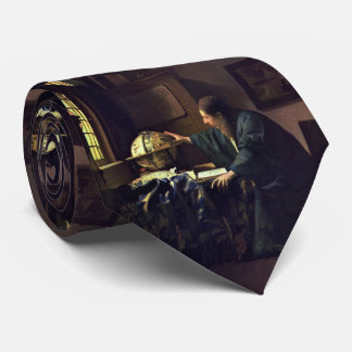 The Astronomer by Johannes Vermeer Tie