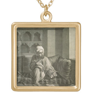 The Astronomer, from Volume II Costumes and Portra Square Pendant Necklace