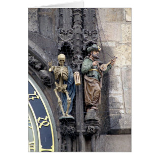 The Astronomical Clock Greeting Card