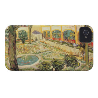 The Asylum Garden at Arles, 1889 (oil on canvas) iPhone 4 Cases