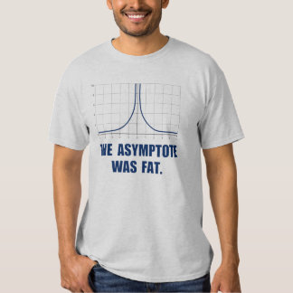 The Asymptote was Fat Shirt