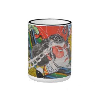 The atelier wind ardently original design magukats ringer mug