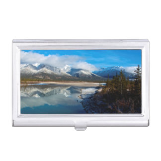 The Athabasca River in Jasper National Park Case For Business Cards